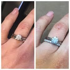 plain wedding band which wedding band ring plain or diamond poll help pros