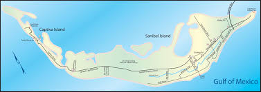 Sanibel Island Map Sanibel Florida Ezdiningguide Com