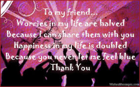 thank you messages for friends quotes and notes wishesmessages