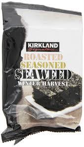 Costco Dog House Kirkland Signature Roasted Seaweed 10 Count Amazon Com Grocery