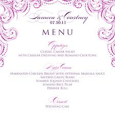 sle menu design templates dinner menu templates free project executive