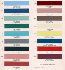 auto paint codes coe colors for 1952 auto paint colors