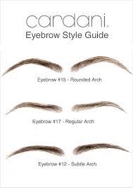 How To Trim Eyebrows Cardani Realistic Human Hair Eyebrows 17 Stick On Eyebrow Wig