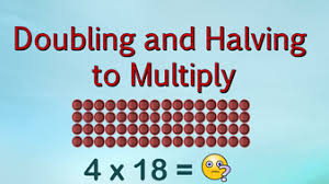 doubling and halving strategy to multiply with arrays by barang