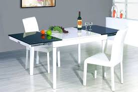 dining room white glass extendable 2017 dining table design