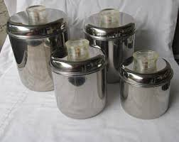 lucite canister set etsy