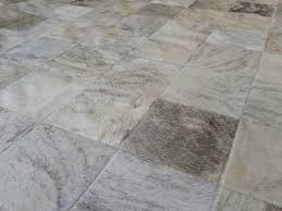 Patchwork Cowhide Rug Custom Project Gray Patchwork Cowhide Rugs In Squares Shine Rugs