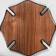 wooden maltese cross maltese cross walnut finish plaque