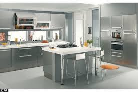 cuisine contemporaine grise awesome cuisine grise et blanche design ideas design trends 2017