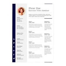 Clean Resume Template Word Resume Template 79 Fascinating Free Examples Of Resumes Using