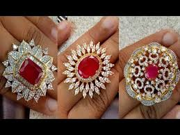 big fashion rings images Party wear big bold stone work designer finger rings jpg