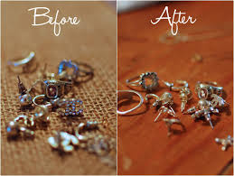silver necklace diy images How to clean silver jewelry how to still being molly png