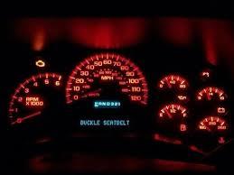 Led Cluster Lights Chevy 1500 Digital Display Repair Asap Speedo Speedometer