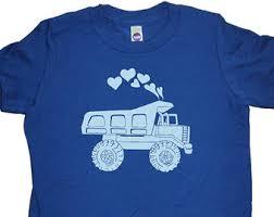 dig dump truck backhoe kids valentines