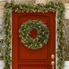 Archway Christmas Decorations by Christmas Wreaths And Christmas Garlands You U0027ll Love Wayfair