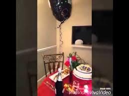 imagenes romanticas de cumpleaños para mi novia cena romántica para mi esposo de cumpleaños youtube