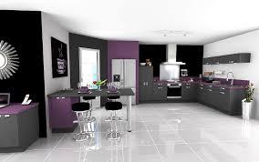 cuisine violette cuisine équipée violet galerie avec meuble cuisine violet pas cher