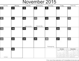 november 2015 free printable calendar printable blank calendar org