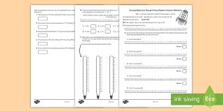 negative numbers and temperature activity sheet worksheet