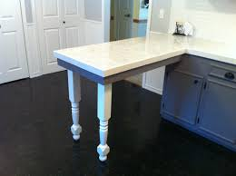 wooden legs for kitchen islands server island posts compliment kitchen renovation theme osborne