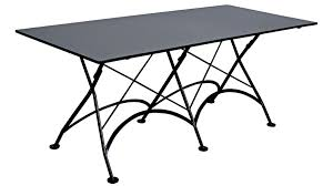 48 Inch Folding Table French Bistro 32 X 72 Inch Large Rectangular Steel Outdoor Folding