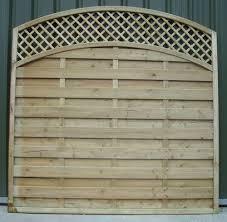 Curved Trellis Fence Panels Fence Panels Crestala Fencing Centre