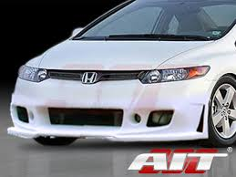 2006 honda civic bumper style front bumper cover for honda civic 2006 2008 coupe