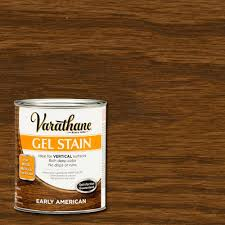 Gel Stain Colors Varathane 1 Qt Early American Gel Stain Case Of 2 266335 The