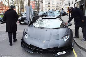 is lamborghini a german car stunt drives his 3 1m lamborghini aventador to the shops in
