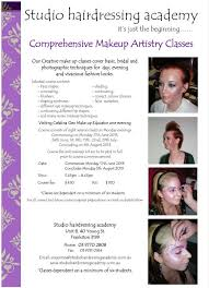 Makeup Artistry Certification Studio Hairdressing Academy Makeup Artistry Course