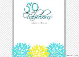 free printable 50th birthday invitations u2013 bagvania free printable