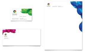 network administration business card u0026 letterhead template word