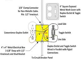 wiring light switch from outlet single pole switch wiring diagram