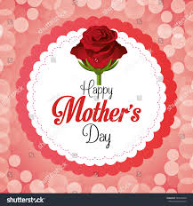happy mothers day card design vector stock vector 263632049