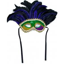 mardi gras mask with feathers feather masks mardigrasoutlet