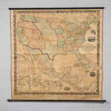 National Map United States Mitchells New National Map Exhibiting The United