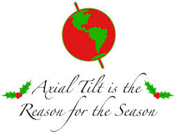 winter solstice 2012 the axial tilt of the earth is the real reason