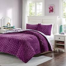 28 home design mini stripe down alternative queen comforter
