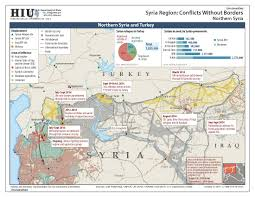 Maps Syria by U S State Department Iraq Syria Conflict Without Borders Map