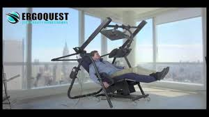 Antigravity Chairs Zero Gravity Desk 9 By Ergoquest Youtube