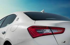 white maserati rear 2014 maserati ghibli s q4 first test motor trend