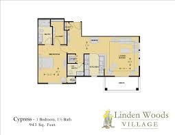 Nursing Home Floor Plans Independent Living Linden Woods Village