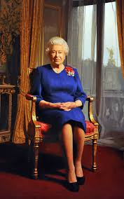 new portrait of queen elizabeth ii unveiled south china morning post