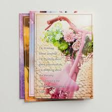 blessing cards thinking of you blessings on your day 12 boxed cards dayspring