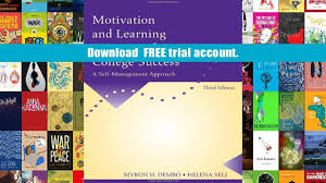 free download motivation and learning strategies for college