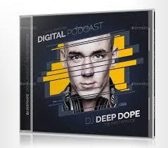 deepdope dj mix cd cover artwork psd by vinyljunkie graphicriver