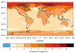 World Temperature Map Focus On Regional Climate Impacts To Hasten Emission Cuts