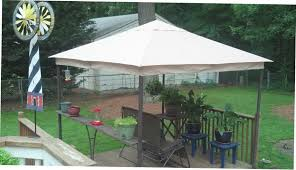 Replacement Canopy For 10x12 Gazebo by Decorating Gazebo Canopy Replacement Garden Winds Gazebo