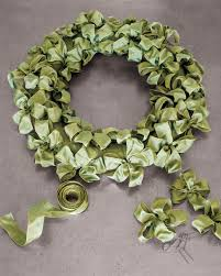 ribbon wreath ribbon wreath martha stewart