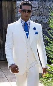 mens linen wedding attire 2016 fashion custom made linen white prom suits wedding suits for